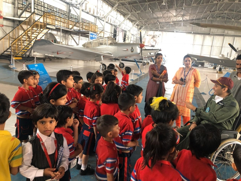 Visit to Indian Airforce Museum, Palam, New Delhi