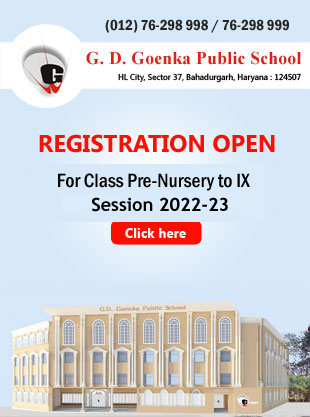 Online Admission in GD Goenka Public School